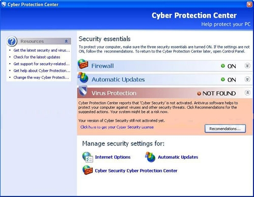 How to remove Cyber Protection Center